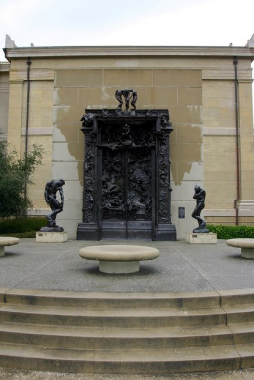 Rodin's Gates of Hell, Leland Stanford, Jr., Museum/Cantor Art Center deedsphoto