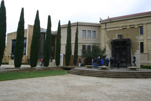 Leland Stanford Museum Garden