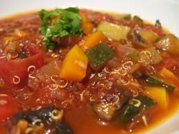Peruvian quinoa stew