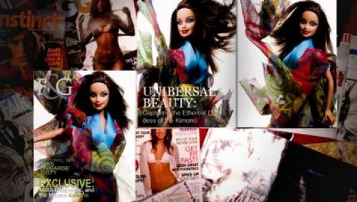Dolls in magazines!!!