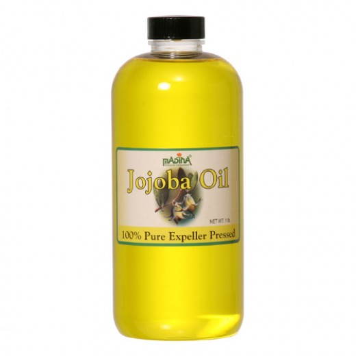 Herbal remedy jojoba oil