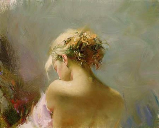 Painting by Pino