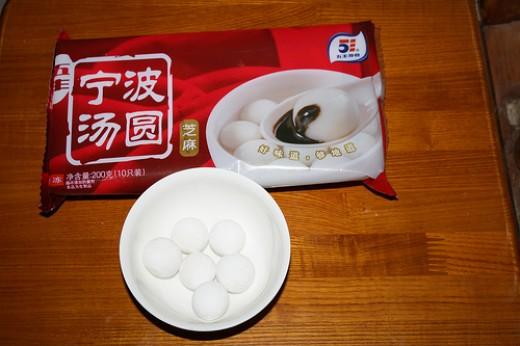 The rice balls.