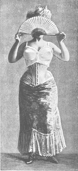 The bras of 1900 were likely not much healthier.