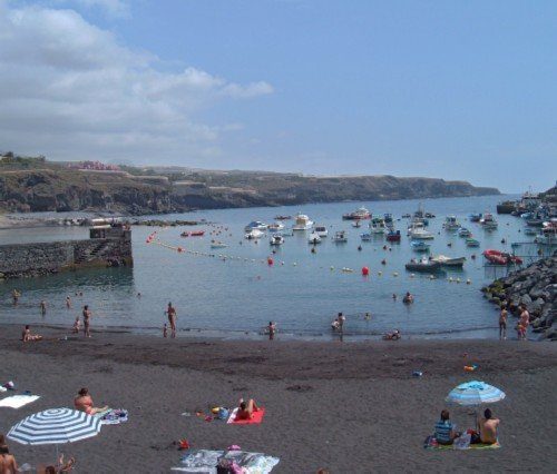 The beach at Playa de San Juan
