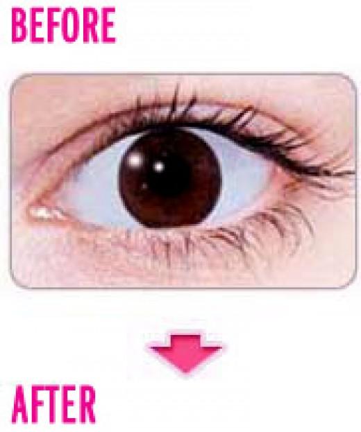 grey contact lenses