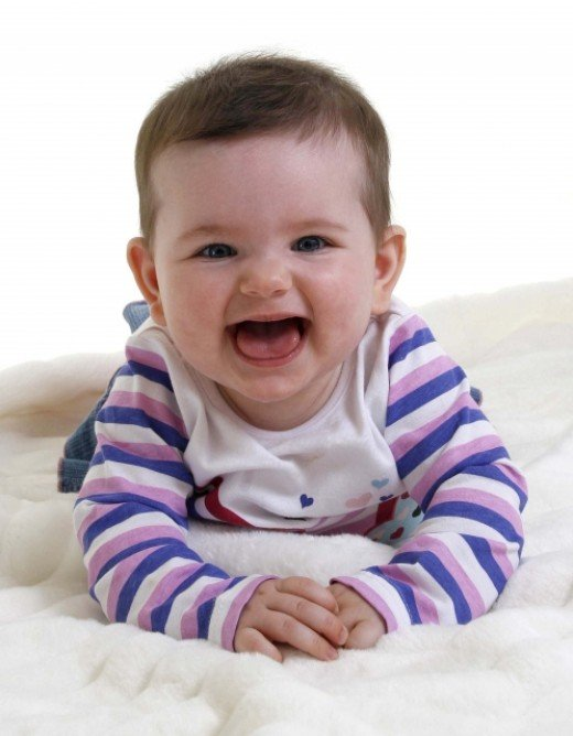 A healthy baby is a happy baby