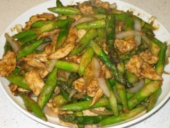 Chicken with Asparagus Stir-Fry
