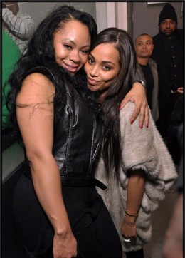 Nivea and Lauren London