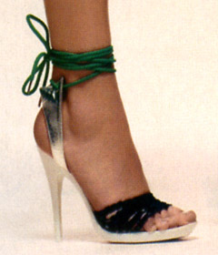 Ankle-Wrap heels - photo credit: the stylegroup.com