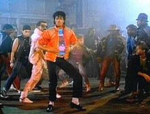 Michael Jackson Beat it video