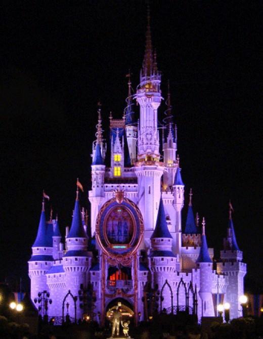 Disney world cinderalla castle