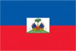 Flag from Haiti