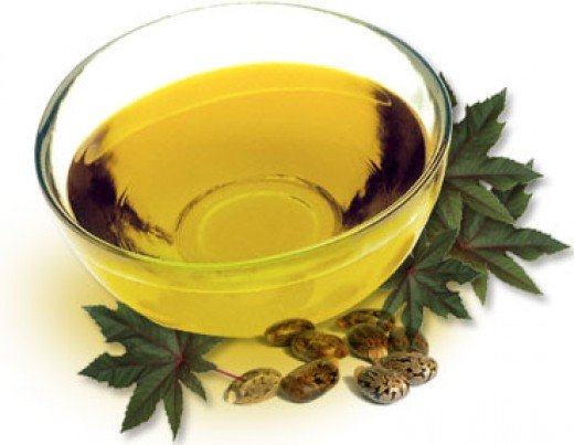 Castor oil to treat constipation