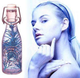 Vinegar prevents wrinkles