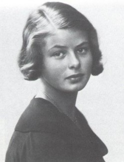 Ingrid Bergman--Striking Photos of a Great Actress and a video from Casablanca