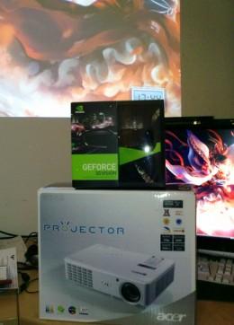 Acer H5360 / nVidia 3D vision packages