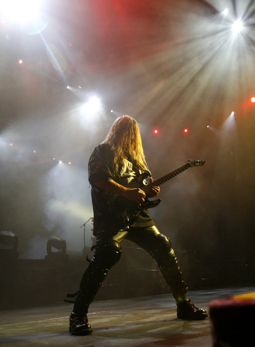 Jeff Hanneman of Slayer who wrote Angel of Death