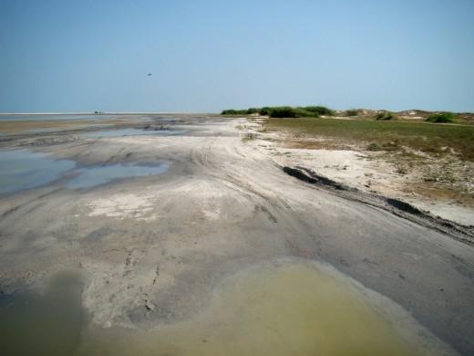 The barren land of Dhanushkodi