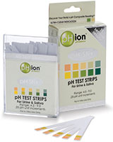 This is the brand of PH Test Strips I use personally.