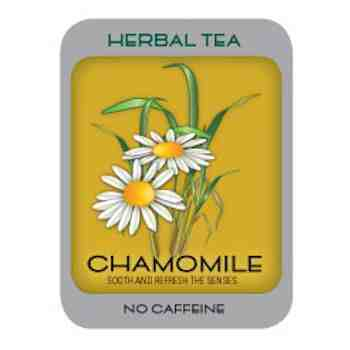 Chamomile tea is best before sleeping
