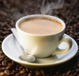 A steaming cup of coffee - photo credit: www.myspace.com