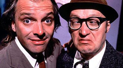 Bottom British Tv Comedy show.    Image copyright BBC 2010.