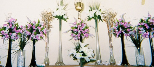 Array of Centerpieces