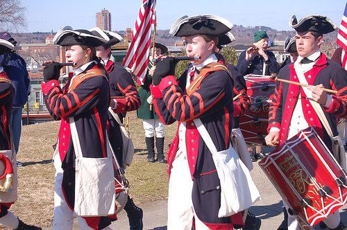 Today Evacuation Day Is Celebrated In The Boston Area With Parades And Memorials