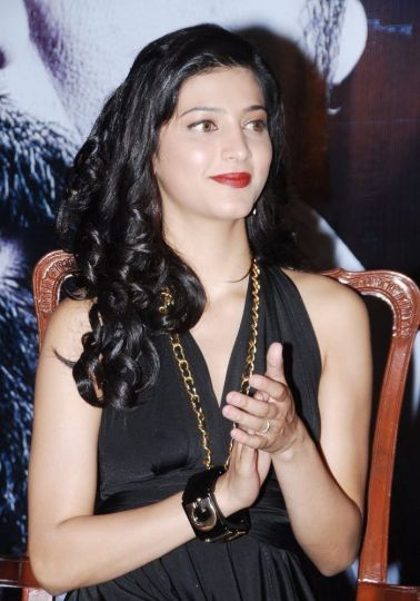 Shruti at a Party