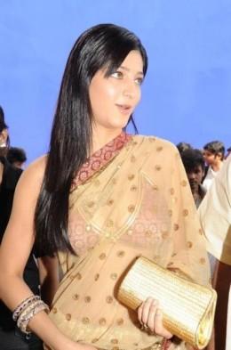 Girl Shruti but Charm Saree
