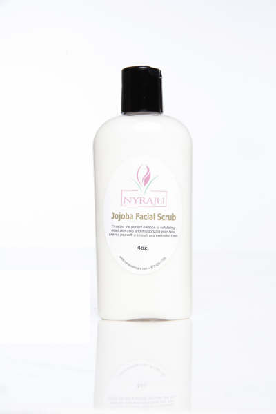 Jojoba Facial Scrub-Natural Skin Lightener