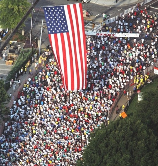 Peachtree Road Race, Atlanta