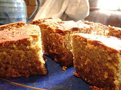 The Original Gingerbread Cake sold at Funfairs.
