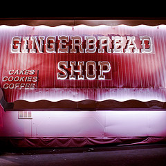 The Gingerbread Shop where delicious cookies may be found!....All photos courtesy of Flickr.