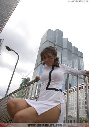 Hot Thigh Show Sadha