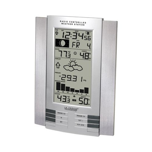 La Crosse Technology WS-8035U-IT-SAL Wireless Weather Station - with Remote Temperature and Humidity Gauge