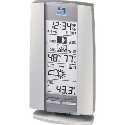 The Weather Channel WS-9016TWC Sun / Moon Wireless Weather Station