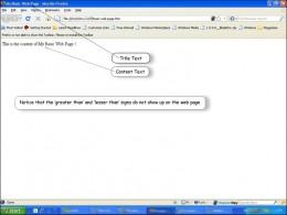 'My Basic Web Page' screenshot