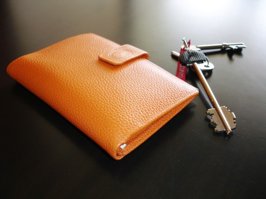 Flat wallets are convenient to slip into your pocket or purse, backpack or briefcase!