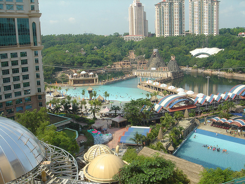 Sunway Lagoon Water Park in Malaysia.