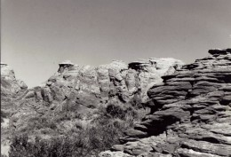 Sandstone Formations South of Laramie