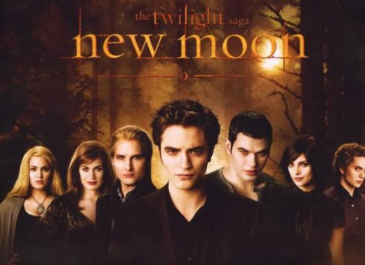 New Moon - The main cast