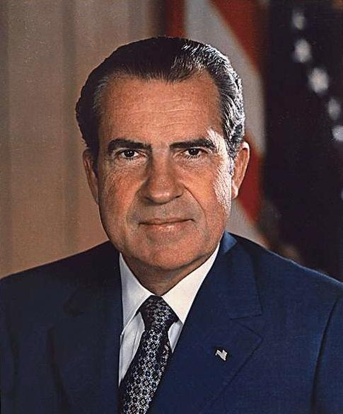 Public Domain Photo of President Richard Nixon