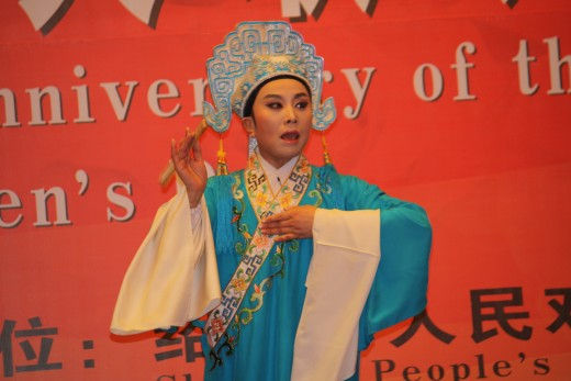 Traditional Chinese performer