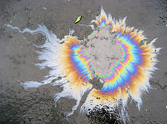 Oil Spill on Water (Flickr)