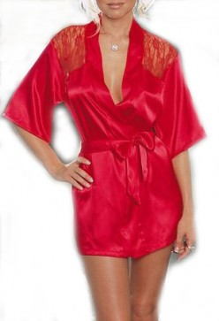 Ooh, La, La - Luscious Satin Robes