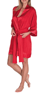Satin-trimmed shortie - photo credit: pajamagram.com