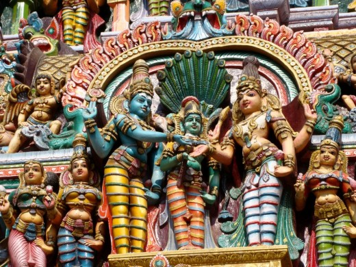 Gopuram decoration 1