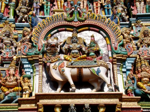 Gopuram decoration 2